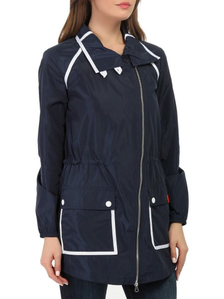 Куртка-плащ женская Sea World Cannes Long Jacket EA7 Emporio Armani