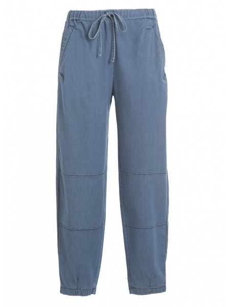 Брюки жен. Denim Balloon Fit Pants