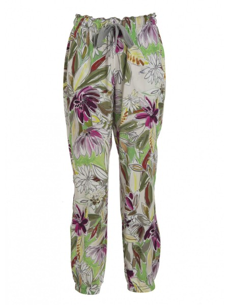 Брюки жен. Floral Twill Jogger Pants