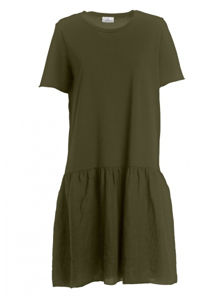 Платье жен. Linen Peplum Dress